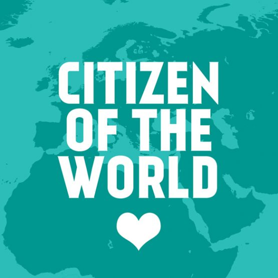 citizen of the world badge